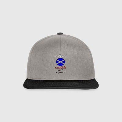 scotland english not re - Snapback Cap