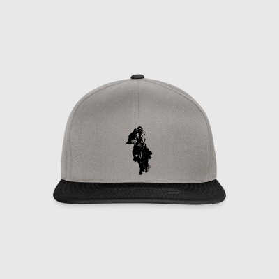 Solitaire Mongol I Black I - Casquette snapback