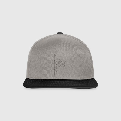 Triangle-Dog - Snapback cap
