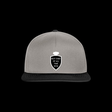 BEST CHIEF OF ALL TIME SHIELD - Snapback Cap