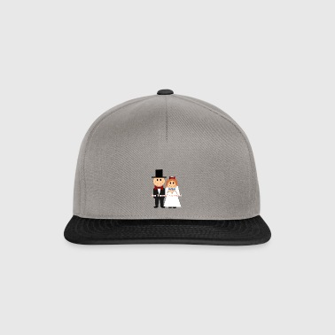don t worry be married - Snapback Cap