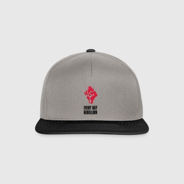 Rebellion fight Faust red blood every day revolutio - Snapback Cap