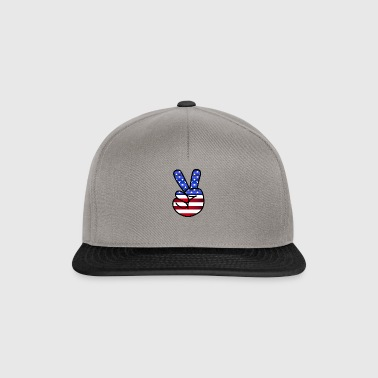 USA Peace - Snapback Cap