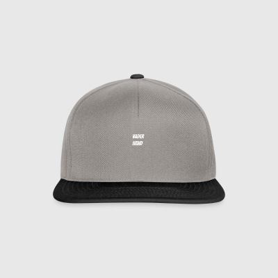 father hand - Snapback Cap