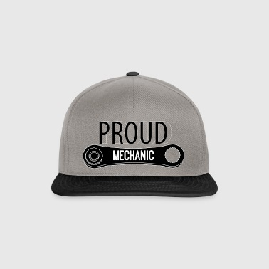 Mechaniker: Proud Mechanic - Snapback Cap