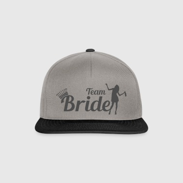 Team Bride - høne JGA gave - Snapback-caps