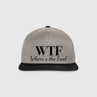 WTF - Where's the Food - Snapback Cap