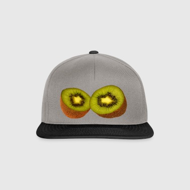 Kiwi, fruit, tropical fruit, health, healthy, - Snapback Cap