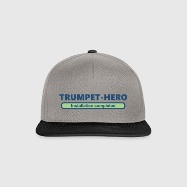 trumpet hero installation completed 2 (1705b) - Snapback Cap