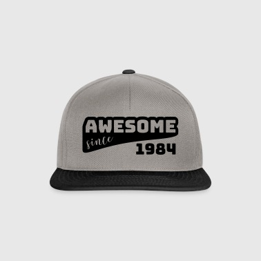 Awesome since 1984 / Birthday-Shirt - Snapback Cap