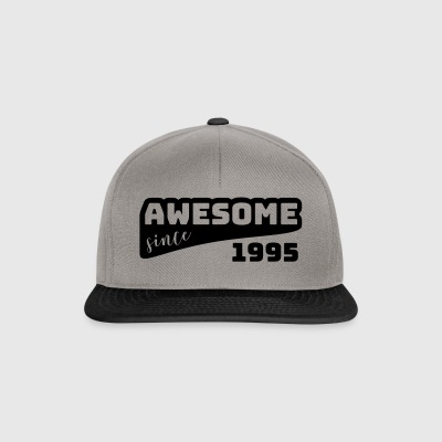 Awesome since 1995 / Birthday-Shirt - Snapback Cap