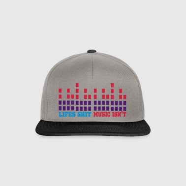 lifes shit music isnt - Czapka typu snapback