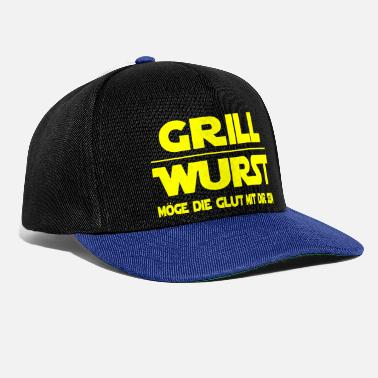 Couples grilling - Snapback Cap