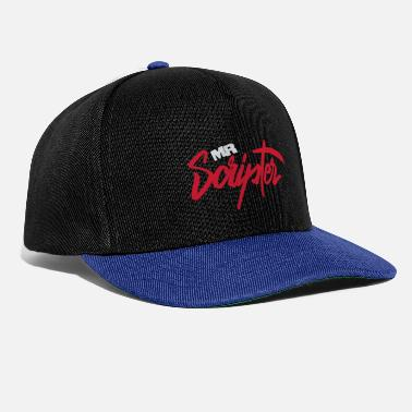 Script Coole schrift mr. Scripter - Snapback Cap
