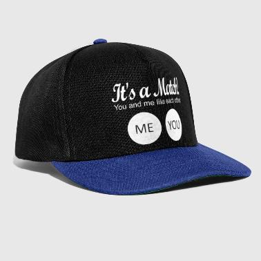 Match It's a match! - Snapback Cap