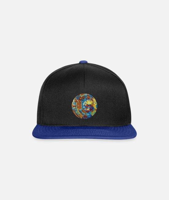 Amazing Caps & Hats - Fantasy - Snapback Cap black/bright royal