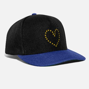 Pro A heart for Europe - Snapback Cap