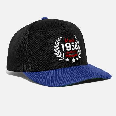 Geburtsjahr Authentic & Individual since March 1958 - Snapback Cap