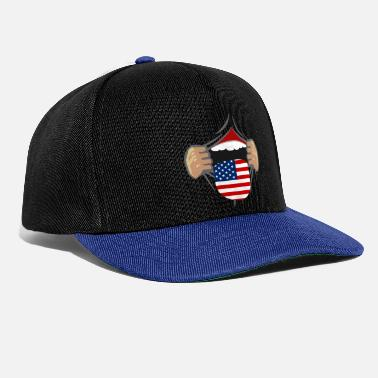 Zitten AufRiss (USA Tongue Edition) - Snapback cap