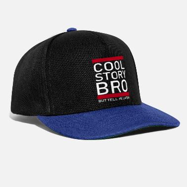 Story Cool Story Bro - White - Snapback Cap