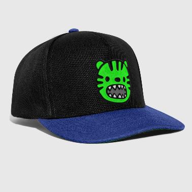 Tiger green stitched look - Snapback Cap