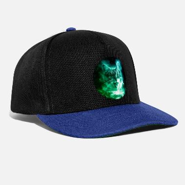 Outer Space Cat In Space Shirt Cosmic Galaxy Sci fi Vintage - Snapback Cap