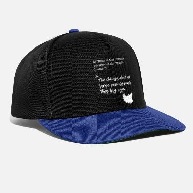 chimpanzees eggs - Snapback Cap