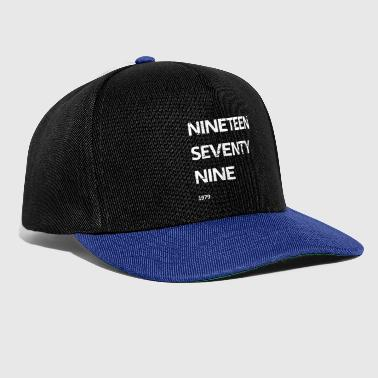 Dix-neuf soixante-dix neuf - Casquette snapback