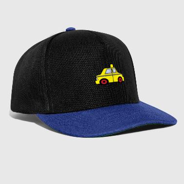 Car yellow taxi - Snapback Cap