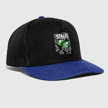 stacks hell - Snapback Cap