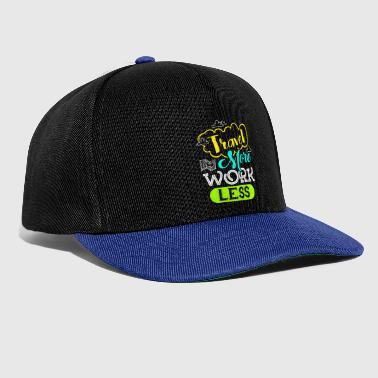 Travel man man man an - Snapback Cap