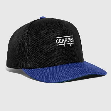 censored - Snapback Cap