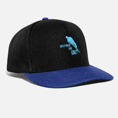 Ski Jumping Ski flying ski jumping - Snapback Cap