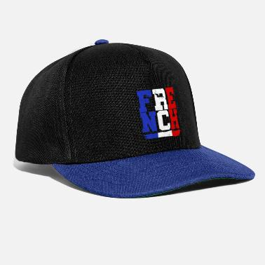 French France French Christmas gift - Snapback Cap