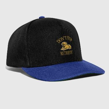 Border Collie Golden Retriever Labrador Retrieving Gift - Snapback cap
