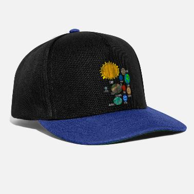Astronautti Planet Earth - Snapback Cap