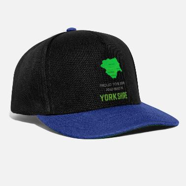 North Yorkshire Proud to be born and bred in Yorkshire - Snapback Cap