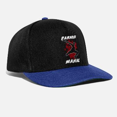 Free Running Parkour Extreme Jump Far Fast Opname Krass - Snapback cap