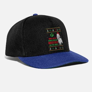 Highland Ugly Christmas Westie West Highland Terrier - Snapback Cap