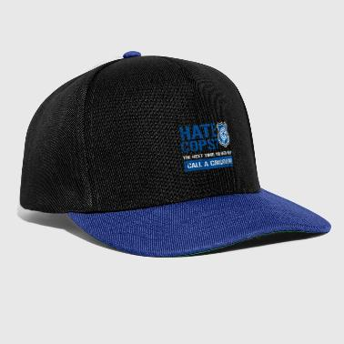 Police Policeman Help Friend and Helper Gift - Snapback Cap