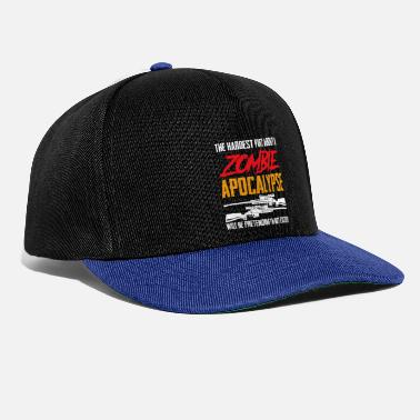 Husband The Hardest Part About A Zombie Apocalypse - Snapback Cap