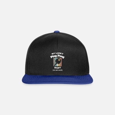 Primatista Lucky Pingpong Shirt - Table Tennis, Gift - Cappello snapback