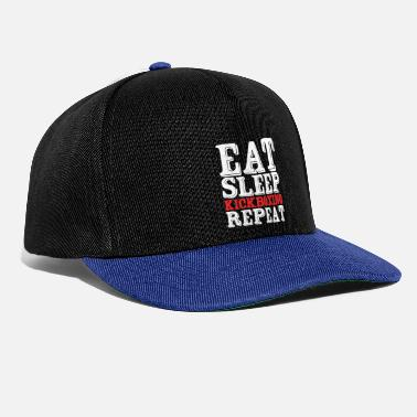 Boxtrainer Eat Sleep Kickboxing Repeat - Snapback Cap