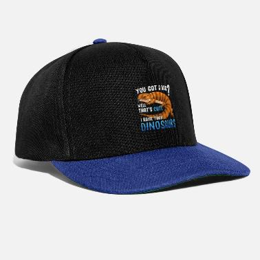 Owned Funny Blue Tongued Skink Pet Lizard Reptile Gift - Snapback Cap