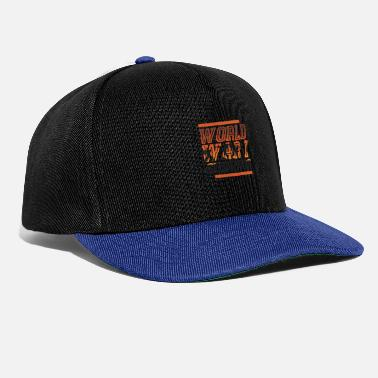 4c511f1f957 History of World War I survivor - Snapback Cap