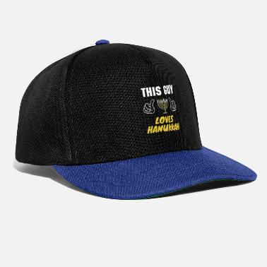 Jewish This Guy Loves Hanukkah, Funny Happy Hanukkah - Snapback Cap