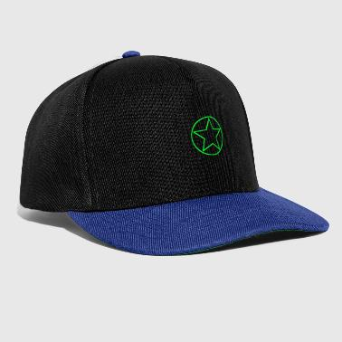 Circle star green - Gorra Snapback
