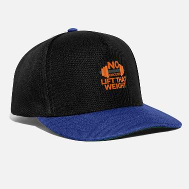 Weights Weight - Snapback Cap