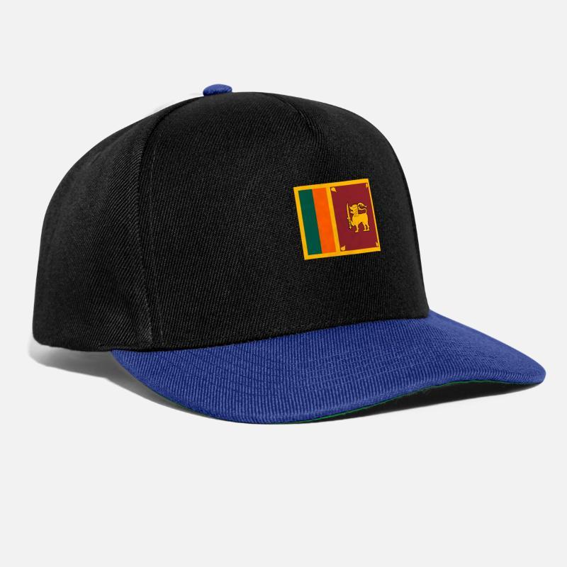 Stylish Caps   Hats - Flag of Sri Lanka (lk) - Snapback Cap black 98076ce2513
