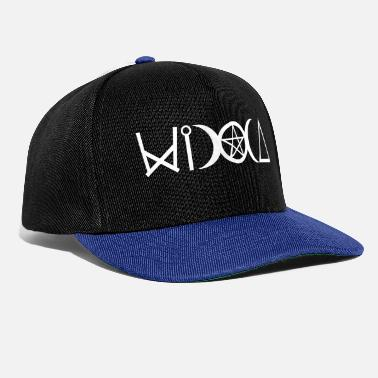Wicca Witches icons WICCA lettering - Snapback Cap